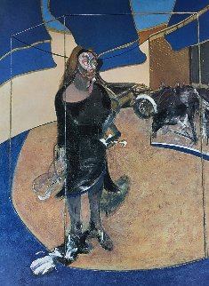 Portrait of Isabel Rawsthorne Standing in a Street in Soho 2004 Limited Edition Print - Francis Bacon