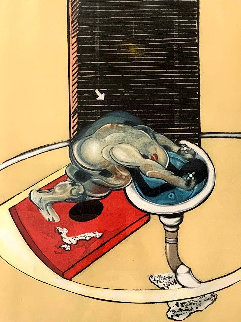L'homme Au Lavabo 1978 Limited Edition Print by Francis Bacon