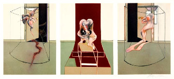 Triptych Inspired by the Oresteia of Aeschylus AP 1981 Limited Edition Print by Francis Bacon