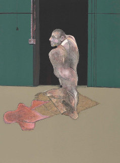 Study For a Portrait of John Edwards 1987  Limited Edition Print by Francis Bacon