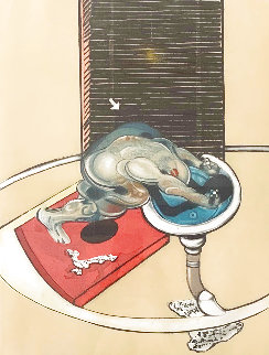 Figure At a Washbasin 1978 Limited Edition Print - Francis Bacon