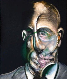 Portrait De Michel Leiris 1977 Limited Edition Print - Francis Bacon