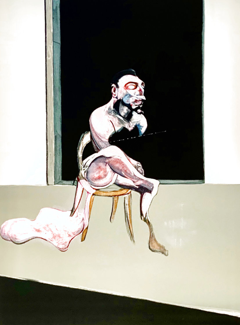 Triptych  August 1972, Set of 3 LIthographs Limited Edition Print by Francis Bacon