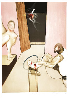 Oedipus And the Sphinx (After Ingres) 1984 Limited Edition Print - Francis Bacon