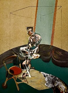 Portrait of George Dyer Staring At Blind Cord Limited Edition Print - Francis Bacon