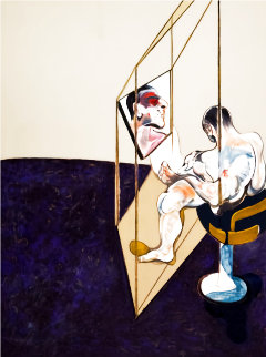 Three Studies of Male Back (Right Hand Panel of the Triptych) 1987 Limited Edition Print - Francis Bacon