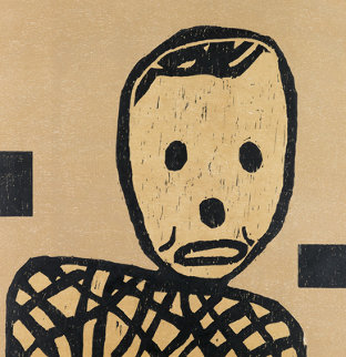 Untitled (Mr. Bill) 1985 Limited Edition Print by Donald Baechler