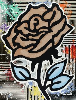 Six Roses, from  Suite of 6 2015  Limited Edition Print - Donald Baechler
