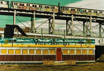 Vista Mar Inn 1980 Limited Edition Print by John Baeder