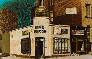Blue Beacon 1979 Limited Edition Print by John Baeder