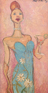 Skylar 27x15 Original Painting - Clifford  Bailey