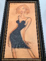 Kelly's Party Dress 2008 28x16 Original Painting by Clifford  Bailey - 1