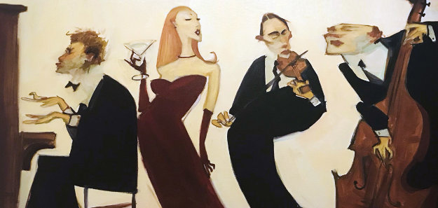 My Romance 2001 Embellished Limited Edition Print by Clifford  Bailey
