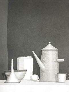 Untitled 1995 Limited Edition Print - William  Bailey