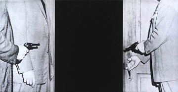 Large Door, From Hegel's Cellar Portfolio AP 1986 Limited Edition Print by John Anthony Baldessari