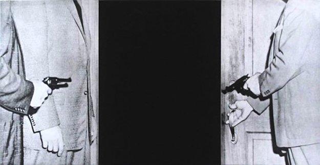 Large Door, From Hegel's Cellar Portfolio AP 1986 Limited Edition Print by John Anthony Baldessari