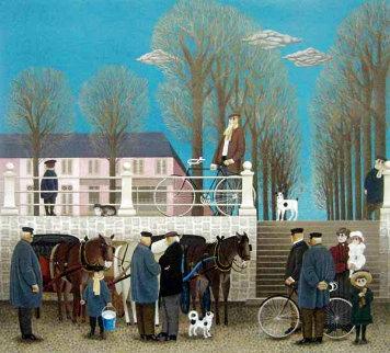 Market Day 1978 Limited Edition Print - Jan Balet