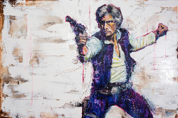 Solo AP Embellished  Harrison Ford Limited Edition Print - Johnathan Ball