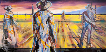 Once Upon a Time in the West Embellished Limited Edition Print - Johnathan Ball