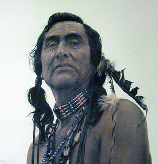 Portrait of a Sioux 1989 Limited Edition Print by James Bama