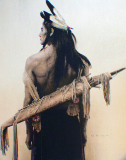 A Mountain Ute 1978 Limited Edition Print by James Bama