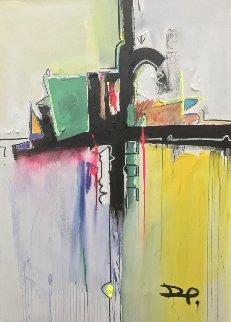 Banegas Abstract 2017 41x56 Original Painting by David Banegas