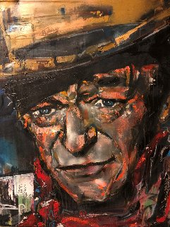 John Wayne 2009 51x41 Original Painting by David Banegas