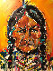 Sitting Bull 2012 51x40 Original Painting by David Banegas - 0