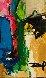 Abstract I 2012 42x39 Original Painting by David Banegas - 1