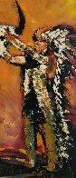 Under the Sun 2007 79x31 Super Huge Original Painting by David Banegas - 2