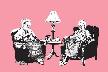 Grannies 2006 Limited Edition Print by  Banksy