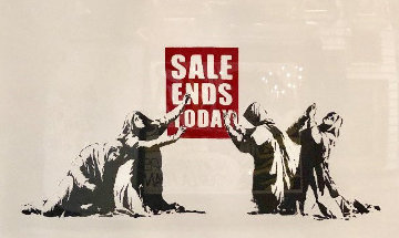 Sale Ends Today 2005  Limited Edition Print -  Banksy
