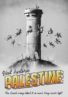 Visit Palestine 2018 Limited Edition Print by  Banksy