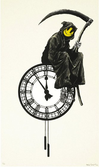 Grin Reaper 2005 Limited Edition Print by  Banksy
