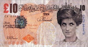 Di-Faced Tenner 2004 Limited Edition Print by  Banksy