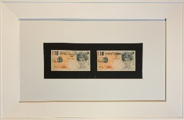 Double Di-Faced Tenner, Set of 2 Lithographs 2004 Limited Edition Print by  Banksy