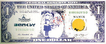 Dismal Dollar 2015 Limited Edition Print -  Banksy