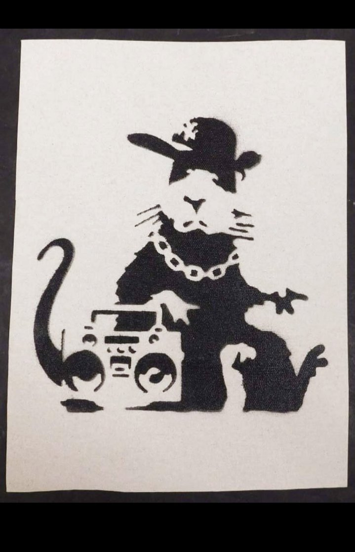 Boombox Rat Other by  Banksy