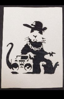 Boombox Rat Other -  Banksy