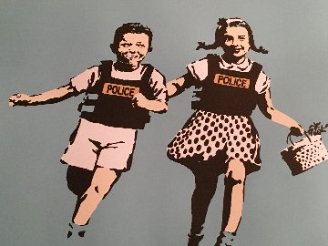 Police Kids, Jack And Jill Limited Edition Print -  Banksy