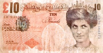 Double Di- Faced Tenner 2004 Limited Edition Print -  Banksy