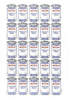 Tesco Value Soup Cans 2006 83x59 Super Huge Limited Edition Print -  Banksy
