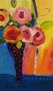 2002 18 x 11 Original Painting - Natasha Barnes
