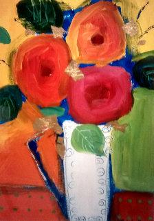 Untitled Painting 2002 33x24 Original Painting - Natasha Barnes