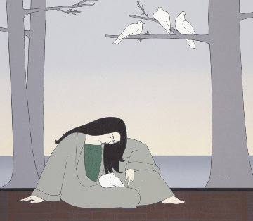 Paean Unique Proof 1978 Limited Edition Print by Will Barnet