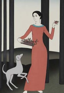 Persephone 1982 Limited Edition Print by Will Barnet