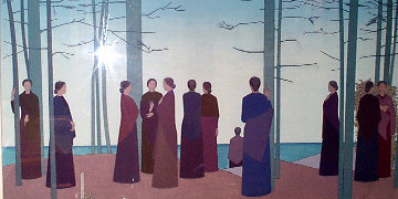 Spring Morning 1985 Limited Edition Print - Will Barnet