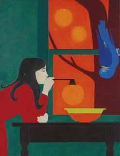 Silent Seasons (Summer) 1976 Limited Edition Print by Will Barnet