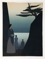 Way to the Sea AP 1981 Limited Edition Print by Will Barnet - 1