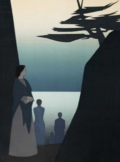 Way to the Sea AP 1981 Limited Edition Print - Will Barnet